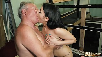 Lucky Old Cock Gets Sucked By Beautiful Teens