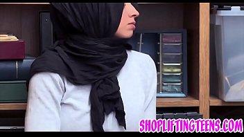 Muslim Arab Teen Gets Facial After Shoplifting And Sucking Dick