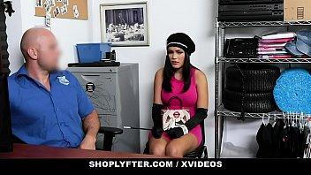 ShopLyfter - Thick Bottom Latina Caught Stealing Blows Security thumbnail