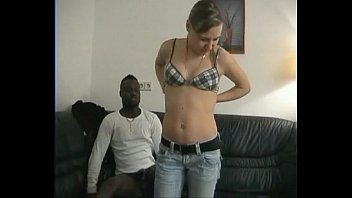 Huge Interracial Surprise for Blonde