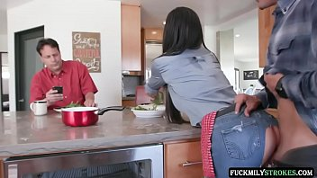 Eggs And Bacon Boning - Melissa Lynn - FULL SCENE on http://FuckmilyStrokes.com