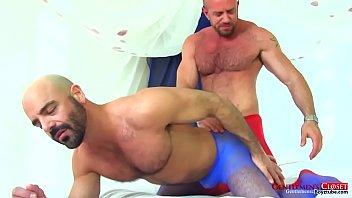 Gay man sheer sock Matt and adam in pantyhose