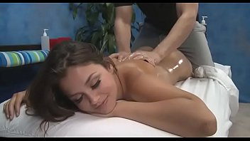 Cute 18 year old oriental girl gets fucked hard by her massagist