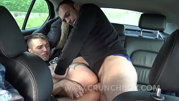 French stewart gay Romantik fucked and creampied in my car on the road by my friend