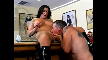 Babes in latex smoking cigs Brunette smokes cig, fucks and sucks huge cock then takes cigar in her pussy