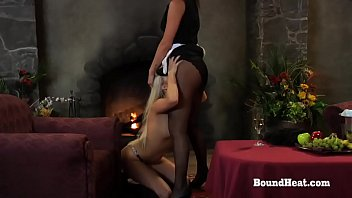 Disappeared On Arrival: Maid And Mistress Pleasured By Obedient Slave