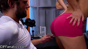 Sex at the gym Dpfanatics cherry kiss gets stuffed at the gym