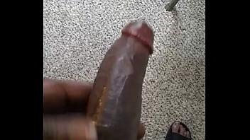 Gettin dis dick ready