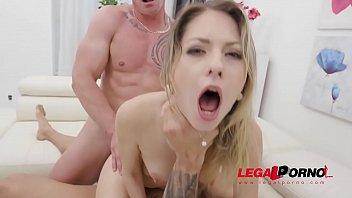 Rebecca Volpetti is a piss drinking slut! (first time pee scene) SZ2445