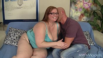 Dog eating cum Sexy bbw julie ann more gets fucked like a dog and eats cum