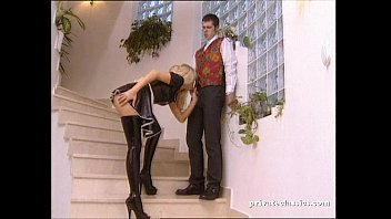 Latex Maid Gets Laid