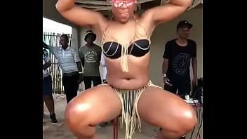 Zodwa Wabantu doing her thing