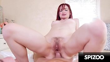 Cum on a red head - Hardcore anal with stunning redhead violet monroe - spizoo