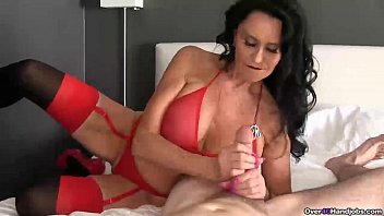 Denile handjobs Ov40-brunette pornstar pov handjob