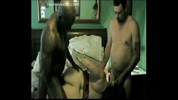 Cuck Hubby gets BJ while BBC fucks his Wife for good on Realwives69.com thumbnail