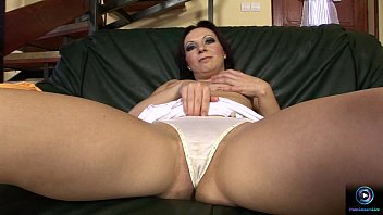 Huge dildo porn movies - Lili gets off with a huge dildo on the couch