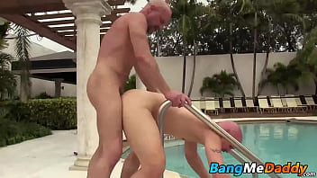 Brock gay - Cole sexton is at the pool and admiring daddy chad brock