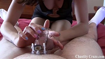 Bdsm stories f m jail chastity Locked in chastity for 30 days by princess ashley