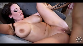ANGELA WHITE - Babe with Huge Natural Tits Gets Fucked Hard