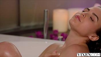 VIXEN Model Ariana seduces costar in steamy weekend hook-up