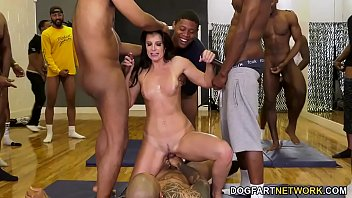 Big black cock dating Dr. india summer conducts her largest group therapy session to date