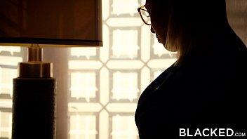 BLACKED Redhead Kimberly Brix First Interracial Threesome 12 min