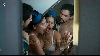 Mastram web series scene 01 air hostess hardcore fuck with passenger in flight