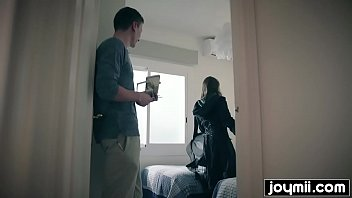 Joymii- horny french teen Luna Rival gets fucked by her landlord