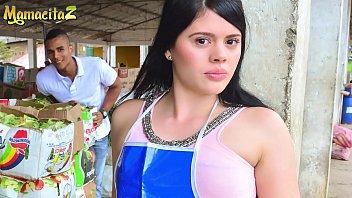 CARNE DEL MERCADO - #Luna Miel - Market Latina Girl Left Her Job To Have Some Fun With Alex Moreno