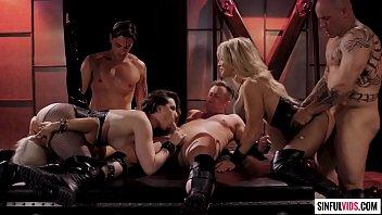 Jessica 2 sexy Mystic orgy with jessica drake, casey calvert and luna star in fallen 2 scene 1