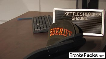 Watch Brooke Brand Banner be both the Cop and the Inmate