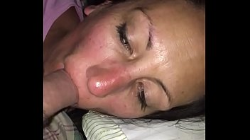 Wife punished with forced deepthroat and choking on my cock slut sucked and creampied by stranger from bar just hours ago