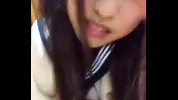 Cosplay japanese girl masturbation