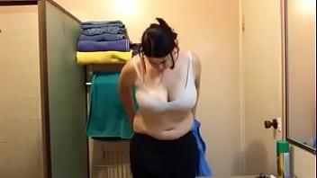 Leisha undressing