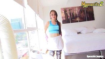 MAMACITAZ - #Valeria Matasanos - Hot POV Sex With A Delicious Teen Latina Maid