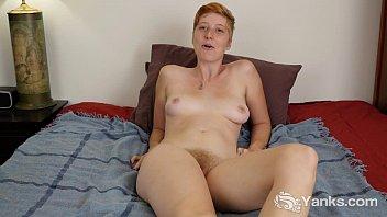 Redhead vigina hair Redhead aurora masturbating her hairy twat