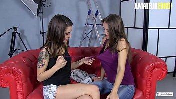 Amateur Euro - Lesbians Sandy Alser And Alexa Nasha Are Fucking In Porn Studio