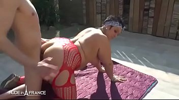 BBW Amateur squirt frenchugar sodomized and cred outdoor