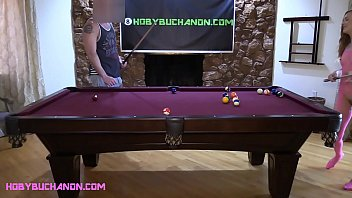 Karla Kush Cheats at Pool & Gets Roughly Face Fucked & Pussy Pounded as Punishment