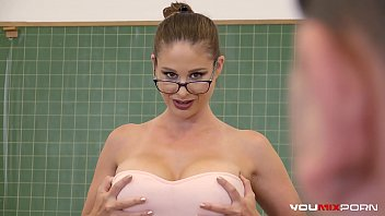 Youmixporn Inte ractive   Busty Teacher Cathy   Teacher Cathy Heaven Fucks Horny Student