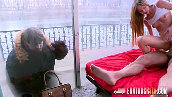 Peeing outside of litter box Amazing paris devine cheats on her boyfriend while he is outside