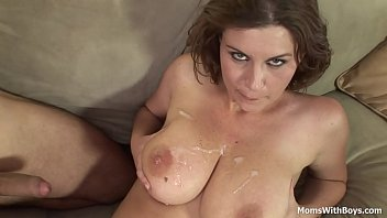 Boy mom fucked - Big tit milf with lovely titties hard fucked