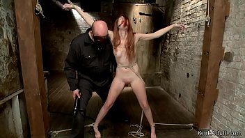 Streaming Video Slim redhead anal hooked on hogtie - XLXX.video