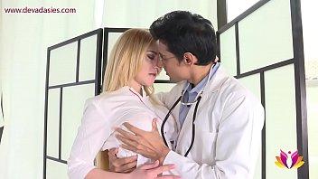 Needy wife seeks gratification from family doctor صورة