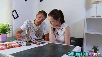 Flirty Girlfriend And Boyfriend