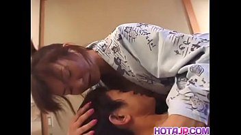 NaughtyMaria Yuuki is delighting a hunk stud with wet blowjob