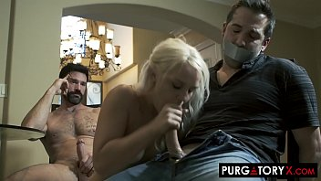 Husbands forced to eat cum clips Purgatoryx home invasion part 2 with bella jane