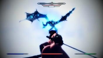 [SKYRIM MOD] Sexy Battle with Alduin