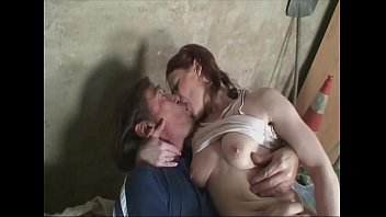 Young hot girl fucks the old horny neighbors in the workshop. صورة