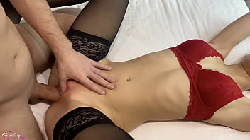 Lover Sensual Pussy Licking And Missionary Fuck - Cumshot